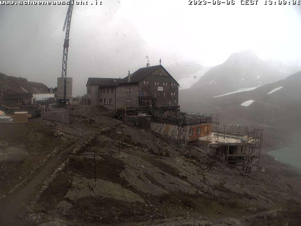 Schnalstaler Gletscher - Schutzhütte Schöne Aussicht